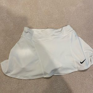 Nike Dri Fit White Tennis Skirt